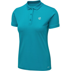 Dare 2b Set Forth Polo Femme, fresh water blue